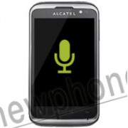 Alcatel One Touch 991D, Microfoon reparatie