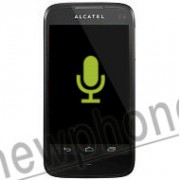 Alcatel One Touch 997D, Microfoon reparatie