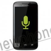 Alcatel OT-993D, Microfoon reparatie