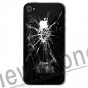 iPhone 4, Backcover  reparatie zwart/wit