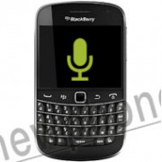 Blackberry Bold Touch 9900, Microfoon reparatie