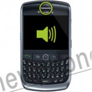 Blackberry Curve 8900, Ear speaker reparatie