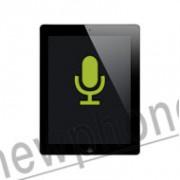 iPad 4, Microfoon reparatie