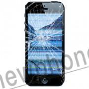 iPhone 5, Touchscreen / LCD zwart / wit repareren - vervangen