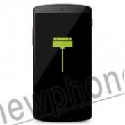 LG Nexus 5, laad aansluiting / dock connector reparatie