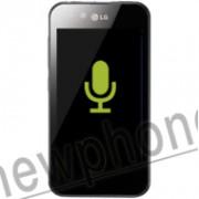 LG Optimus, Microfoon reparatie