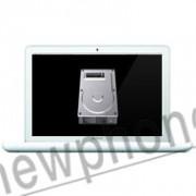 """MacBook A1342 13"""" harde schijf 2T reparatie"""