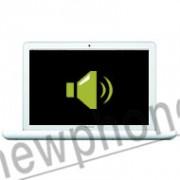 """MacBook A1342 13"""" speaker reparatie"""