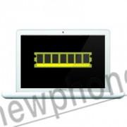 """MacBook A1342 13"""" RAM geheugen 4G reparatie"""