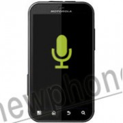 Motorola Defy, Microfoon reparatie