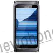Nokia E7, LCD scherm reparatie