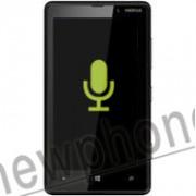 Nokia Lumia 820, Microfoon reparatie