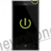 Nokia Lumia 925, On / off button reparatie