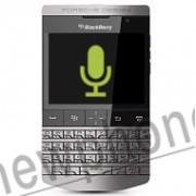 BlackBerry P 9981, Microfoon reparatie