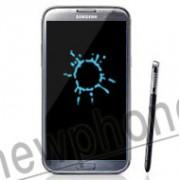 Samsung Galaxy Note 2, Vochtschade