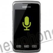 Samsung Galaxy Xcover S5690, Microfoon reparatie