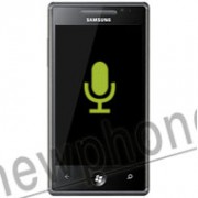 Samsung Omnia 7, Microfoon reparatie