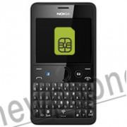 Nokia Asha 210, Simslot reparatie