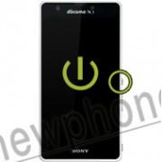 Sony Xperia A, Aan / uit knop reparatie