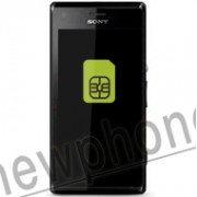 Sony Ericsson Xperia M, Sim slot reparatie