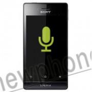 Sony Xperia Miro, Microfoon reparatie