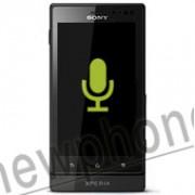 Sony Xperia Sola, Microfoon reparatie