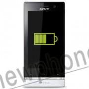Sony Xperia U, Accu reparatie
