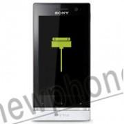 Sony Xperia U, Connector reparatie