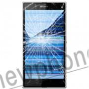 Sony Ericsson Xperia Z Ultra, Display module reparatie
