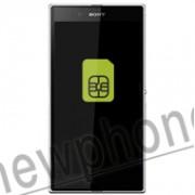 Sony Ericsson Xperia Z Ultra, Sim slot reparatie