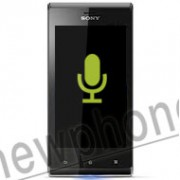 Sony Xperia J Zwart, Microfoon reparatie
