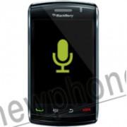 Blackberry Storm 2 9520, Microfoon reparatie