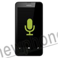 Nokia Lumia 635, Microfoon reparatie