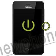 Nokia Asha 501, Aan / uit knop reparatie