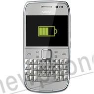 Nokia E6-00, Accu reparatie