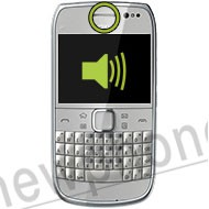 Nokia E6, Ear speaker reparatie