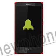 Nokia X luidspreker reparatie