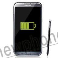 Samsung Galaxy Note 2, Accu reparatie