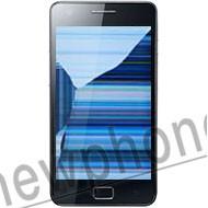 Samsung Galaxy S2, Touchscreen / LCD scherm zwart reparatie