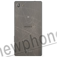 sony xperia z5 compact back cover reparatie