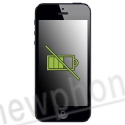 nieuwe accu iphone 5 snel leeg