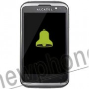 Alcatel One Touch 991D, Speaker reparatie