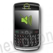Blackberry 8900 Curve, Ear speaker reparatie