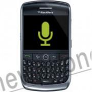 Blackberry Curve 8900, Microfoon reparatie