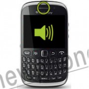 Blackberry Curve 9320, Ear speaker reparatie