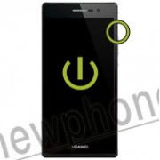 Huawei ascend P7, Aan / uit knop reparatie