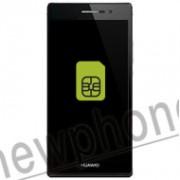 Huawei ascend P7, Sim slot reparatie