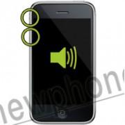 iPhone 3G, Mute knop zwart/wit. reparatie