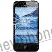 iPhone 4, Touchscreen/ LCD reparatie zwart/ wit