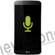 LG G Flex, MIcrofoon reparatie